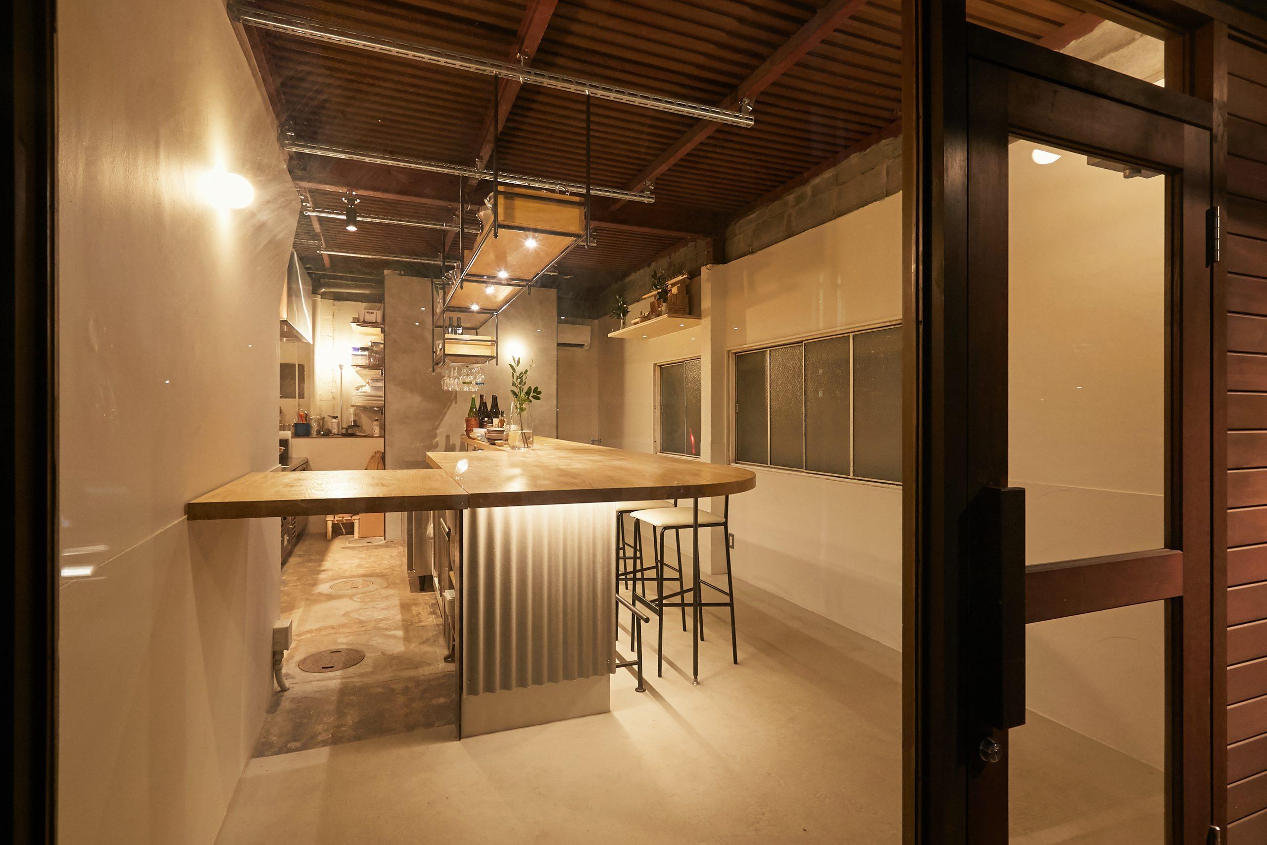 岡山市_レストラン_SALT 石川食堂の内装・外観03