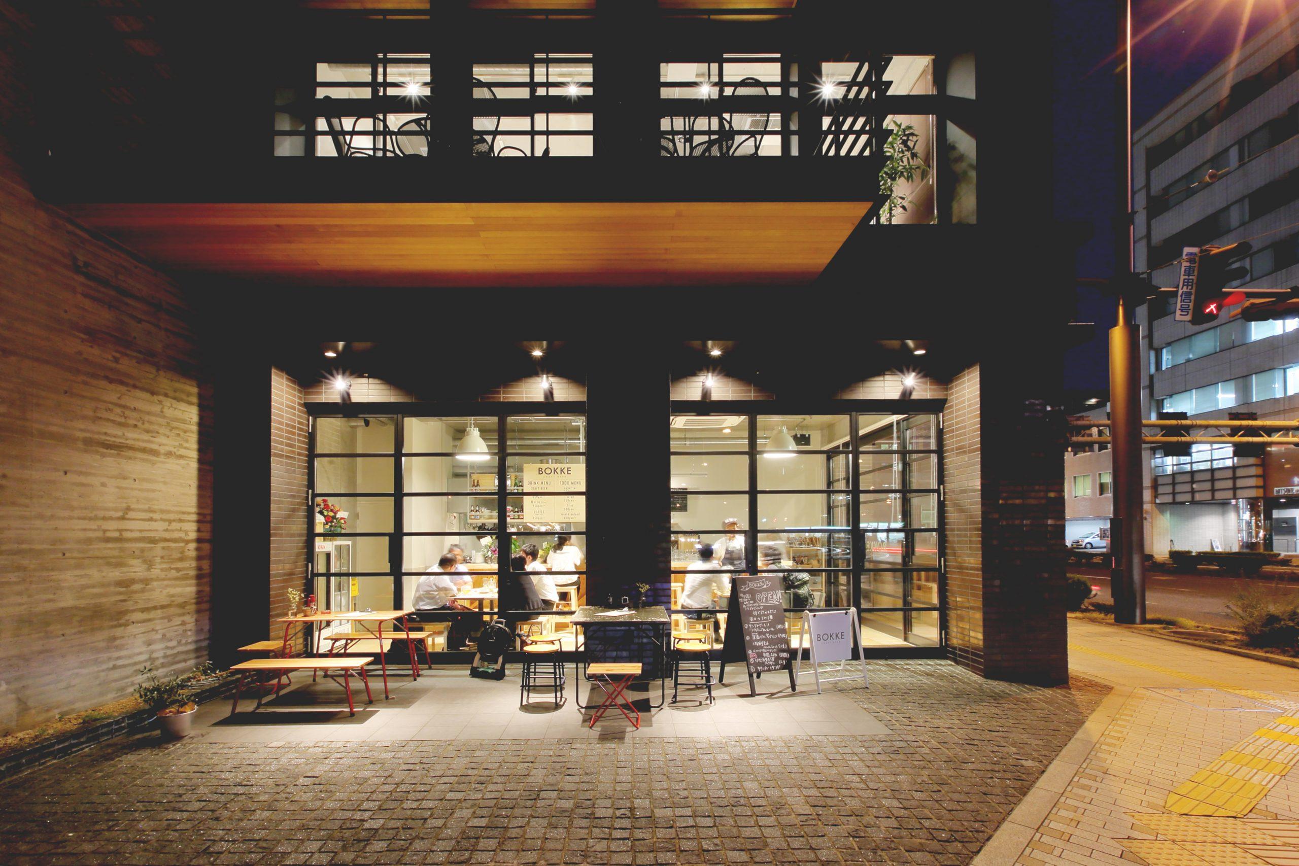 松山市_レストラン_BOKKEの内装・外観04