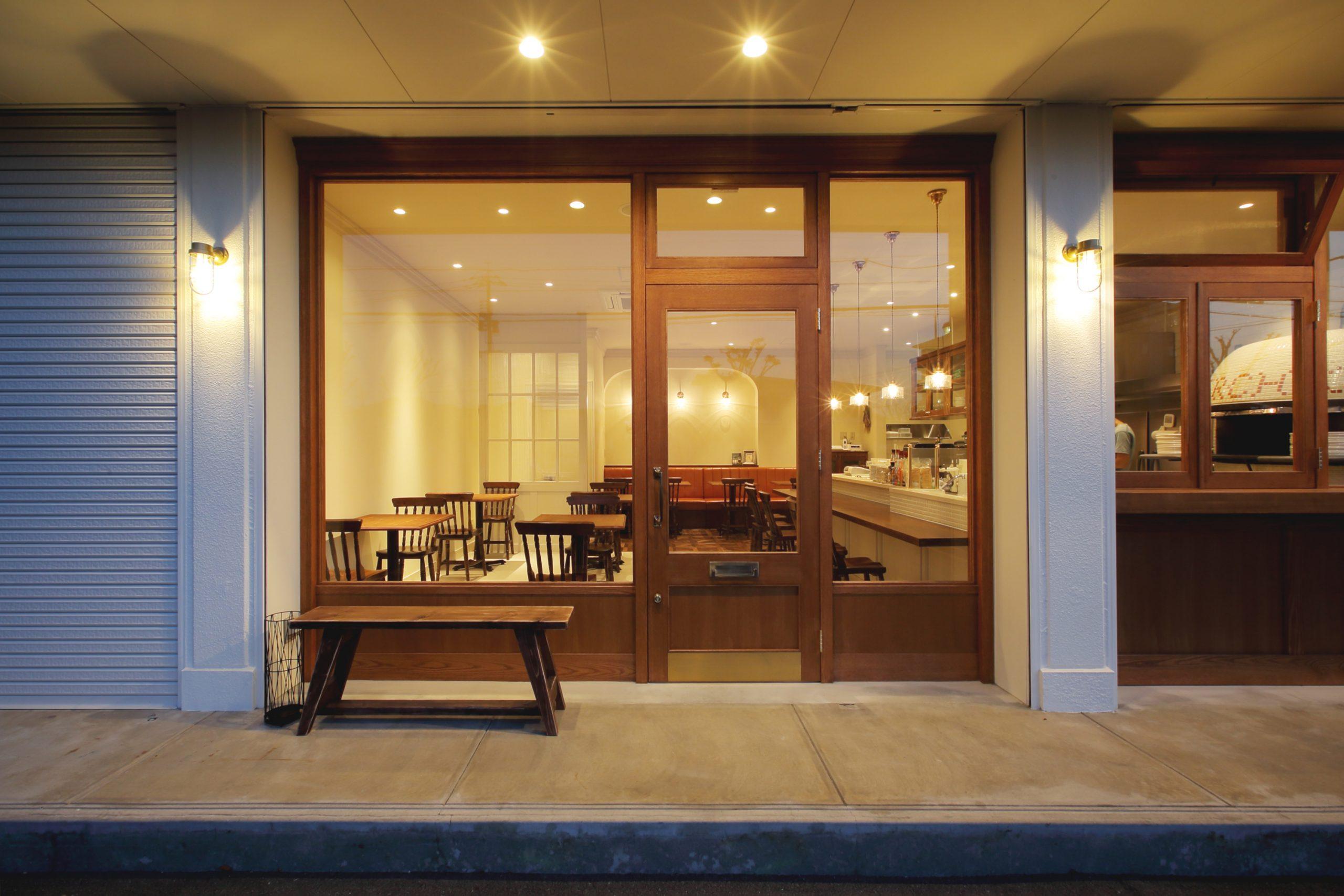 総社市_レストラン_CERCHIOの内装・外観03