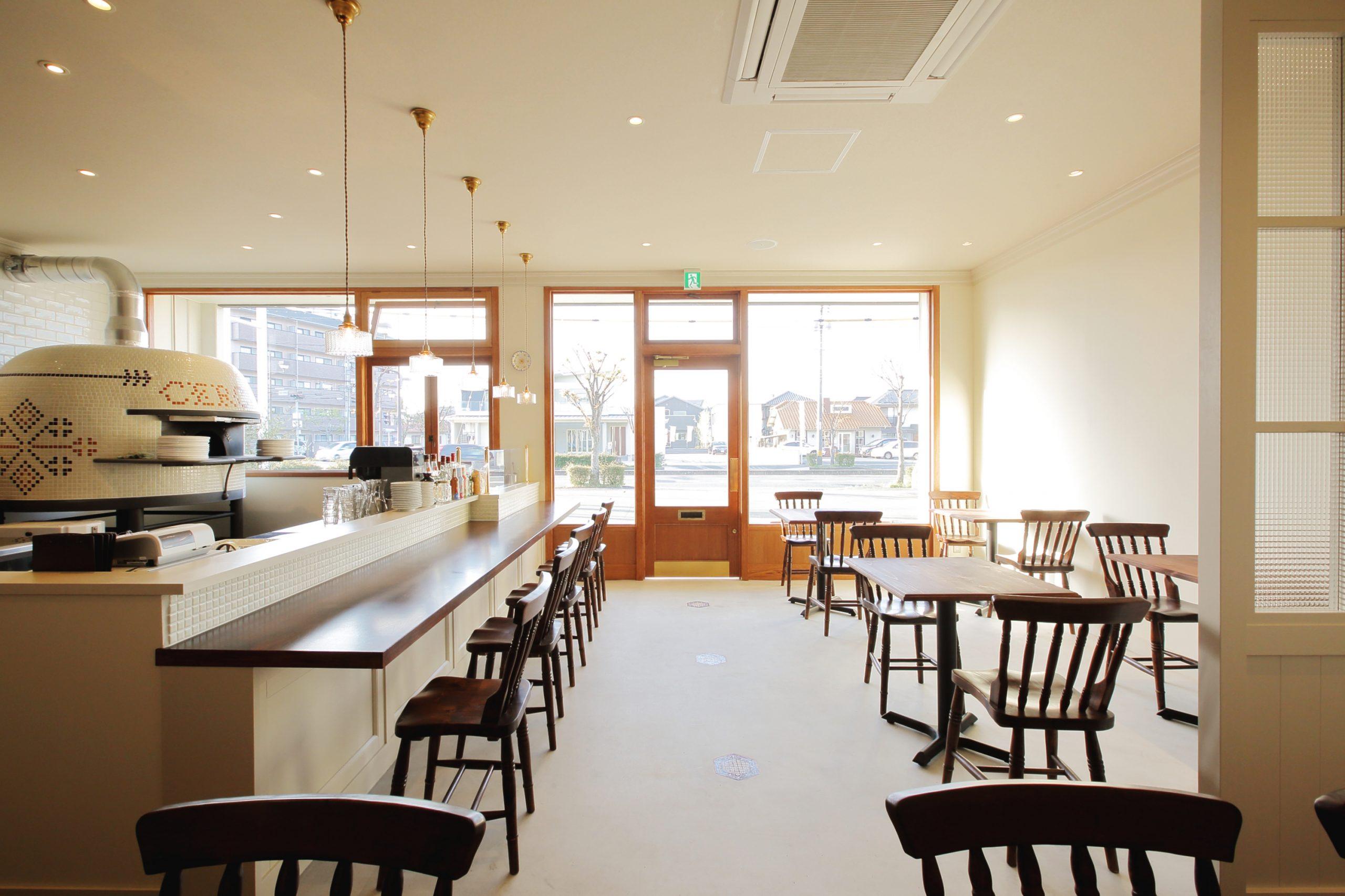 総社市_レストラン_CERCHIOの内装・外観05