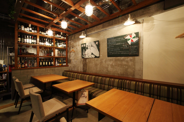 岡山市_レストラン_EGOZARUの内装・外観004
