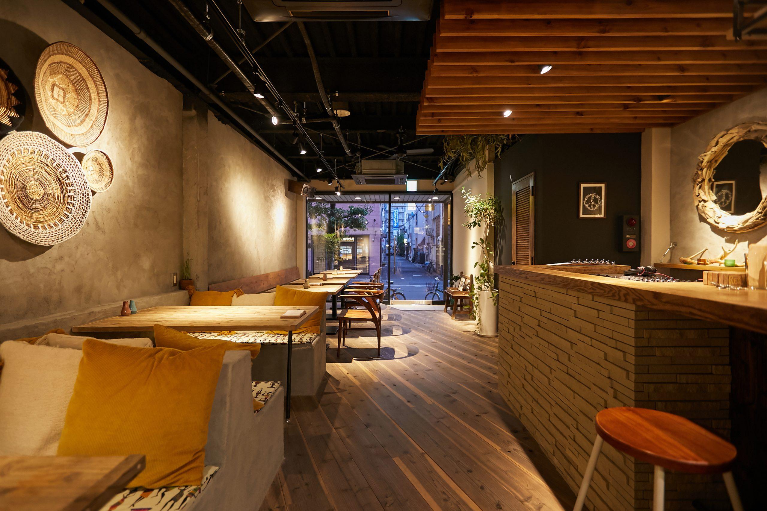 岡山市_レストラン_OKCURRYの内装・外観03