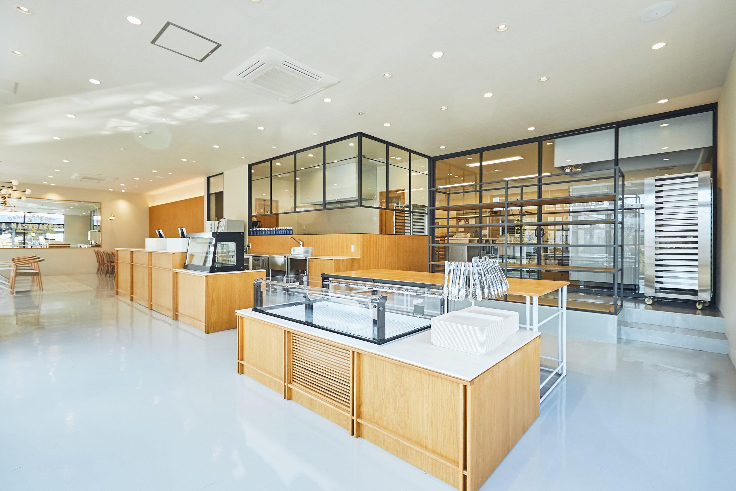 岡山市_レストラン_L.A.MASABAKERSの内装01