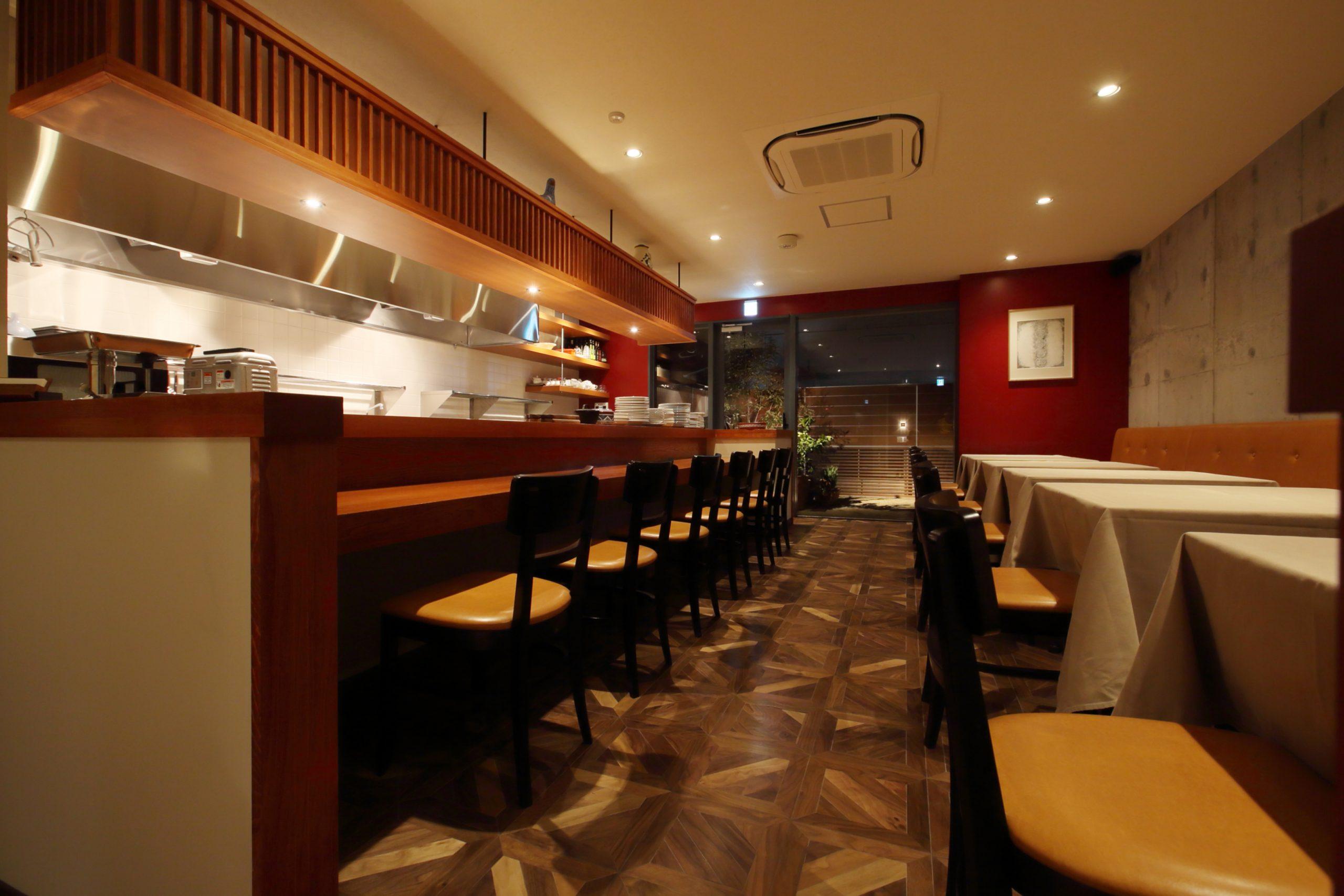 岡山市_レストラン_LABOCCAの内装01
