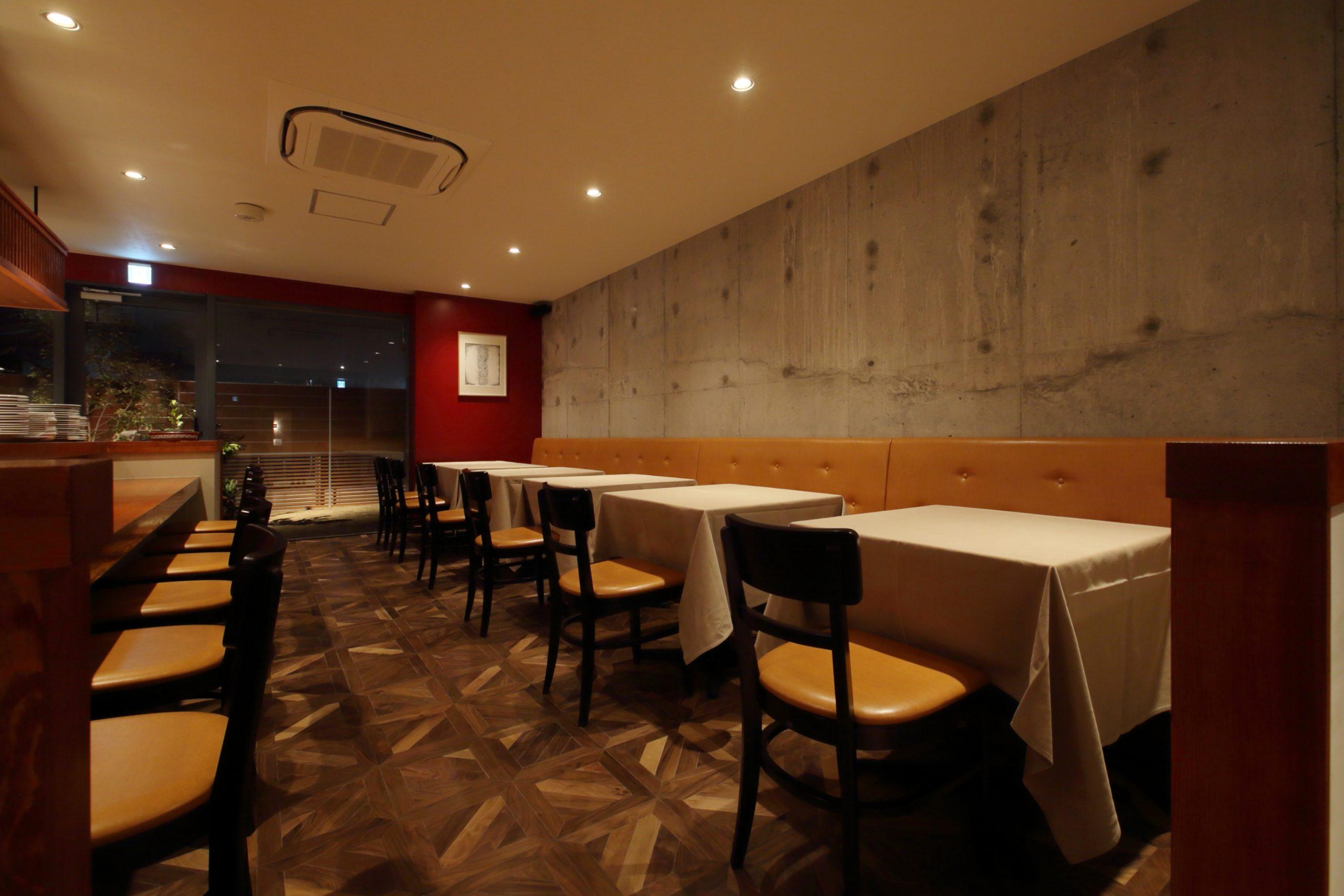 岡山市_レストラン_LABOCCAの内装02