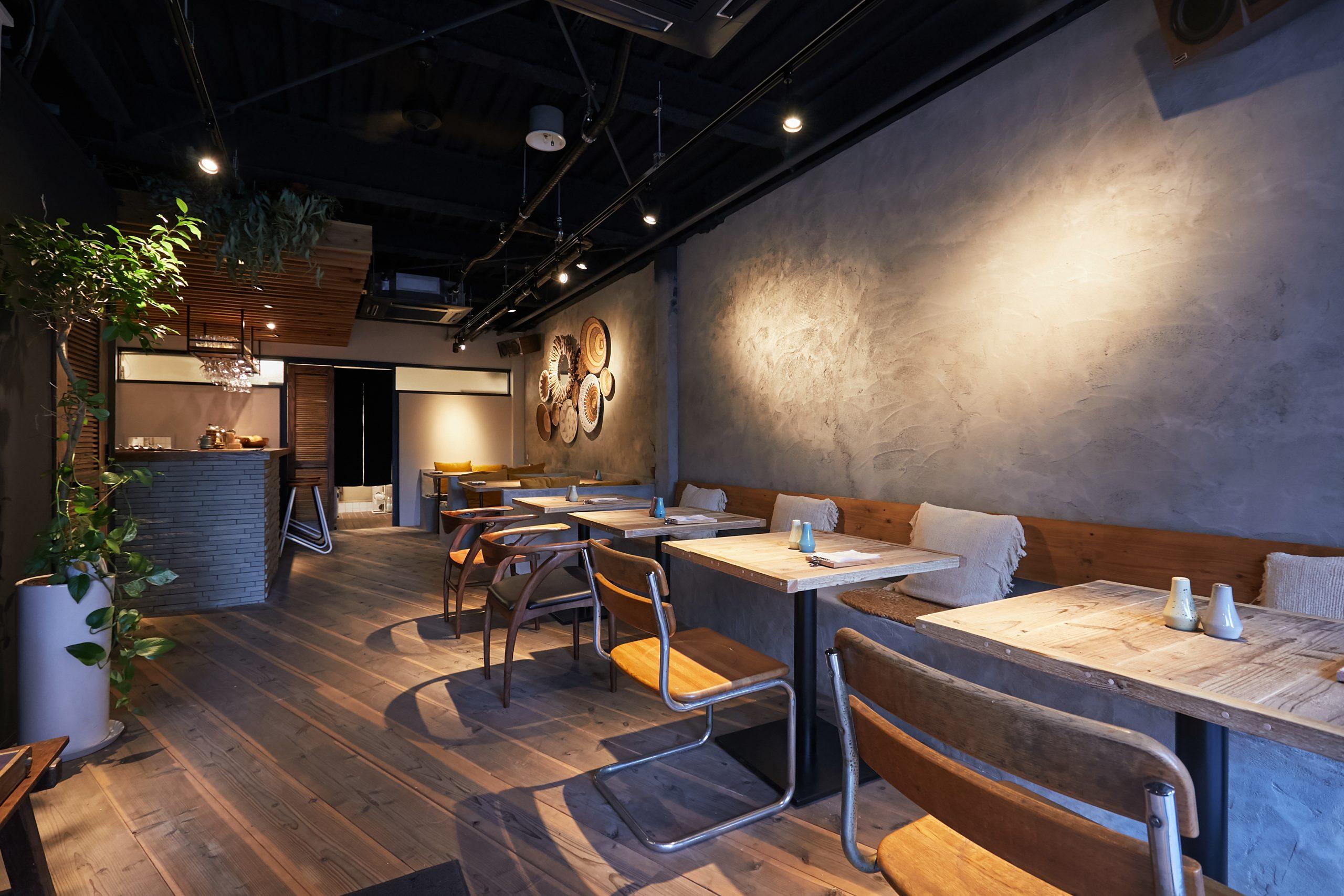 岡山市_レストラン_OKCURRYの内装・外観01