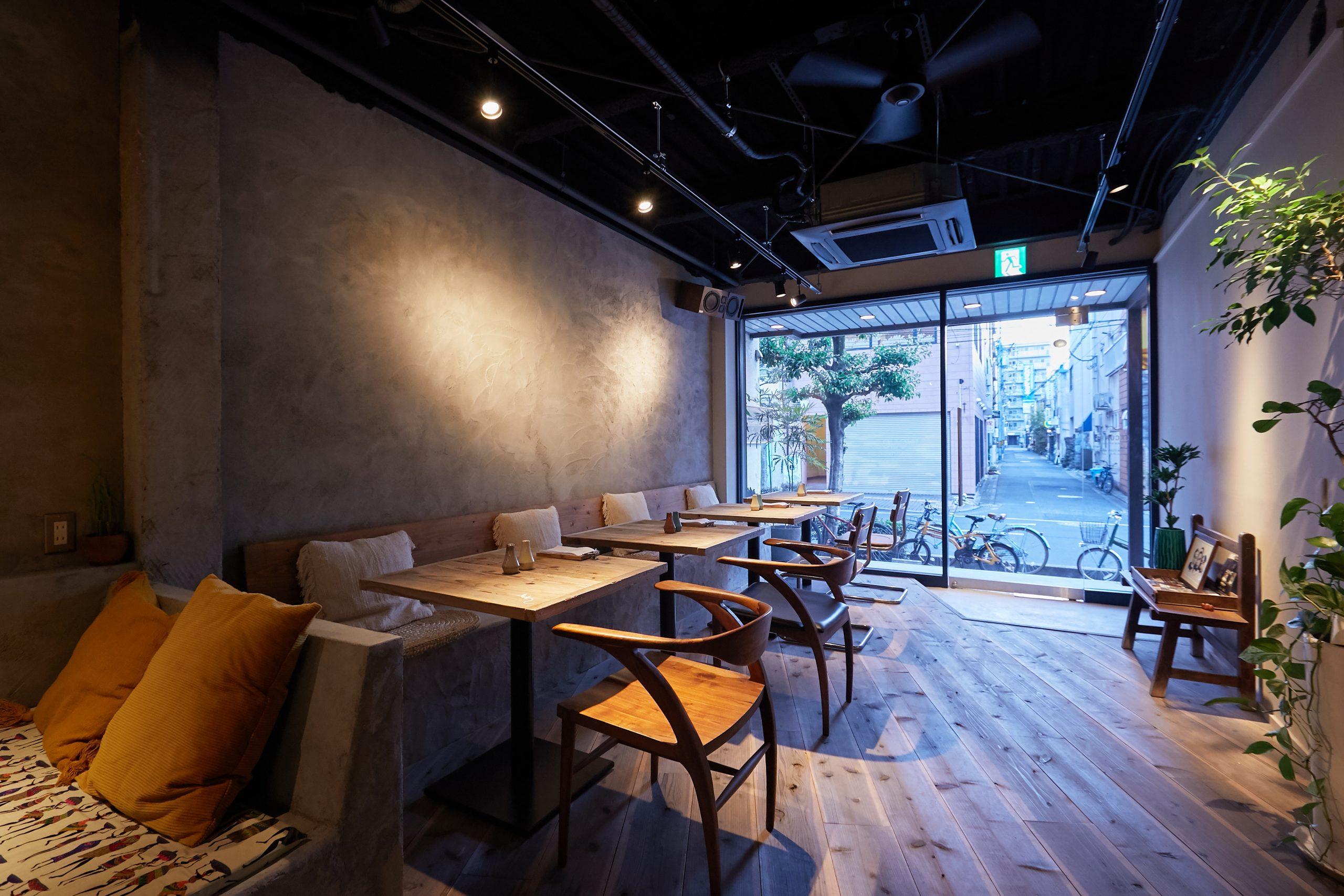 岡山市_レストラン_OKCURRYの内装・外観04