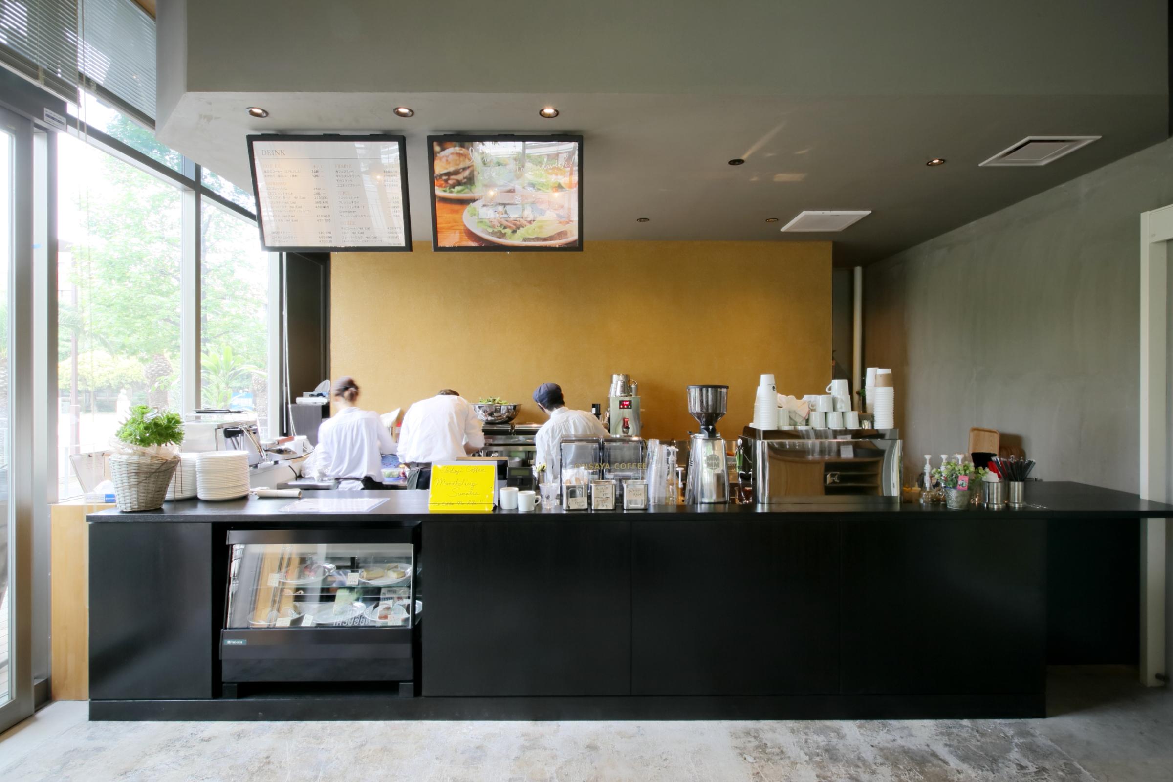 岡山市_レストラン_ONSAYA COFFEE shikataの内装・外観01
