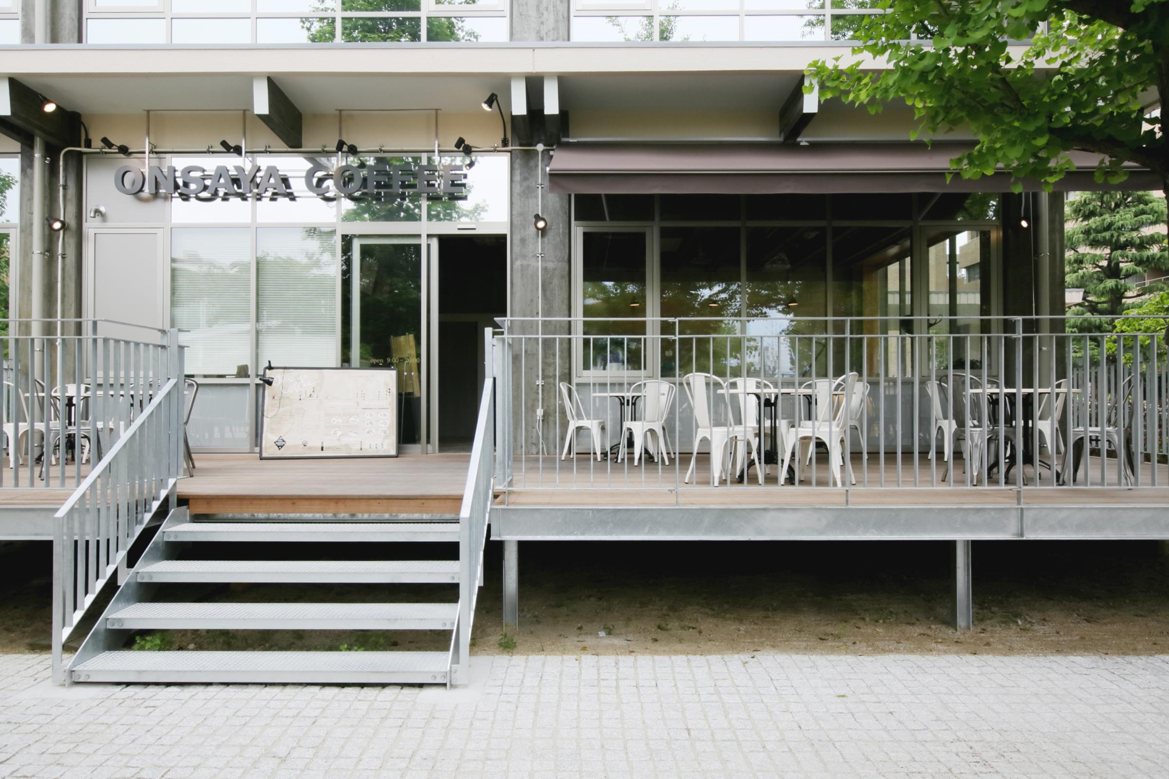 岡山市_レストラン_ONSAYA COFFEE shikataの内装・外観05